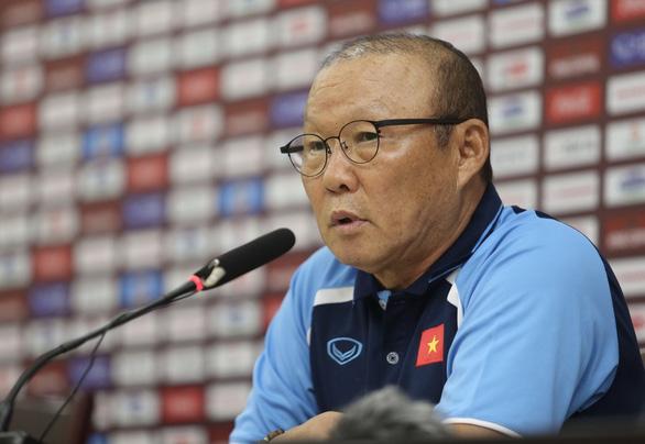HLV Park Hang Seo: Vòng loại World Cup 2022 là mục tiêu quan trọng nhất - Ảnh 1.