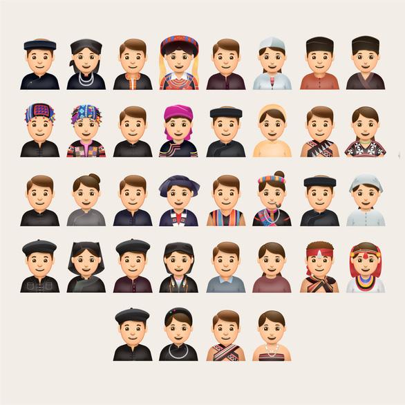 Mang văn hóa Việt ra thế giới với emoji Nhỏ to Việt Nam - Ảnh 1.