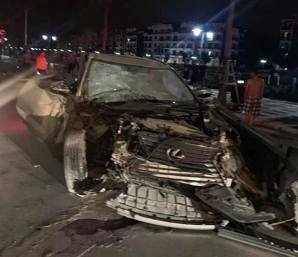 Nồng độ cồn của tài xế Lexus tông chết nữ công an tại Hải Phòng ở mức cao nhất - Ảnh 2.