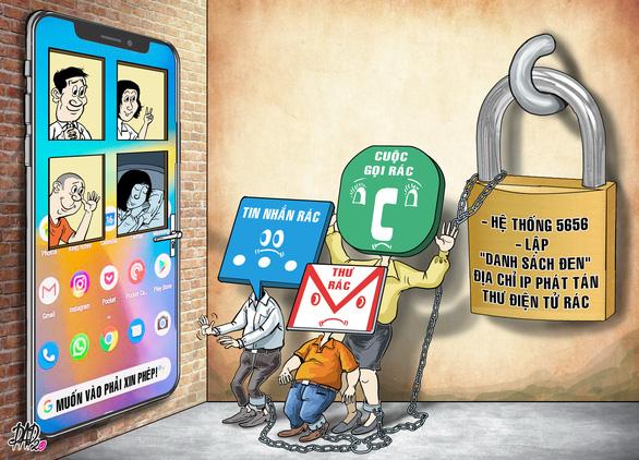 Đầu số 5656: thuốc trị tin nhắn, cuộc gọi rác - Ảnh 3.