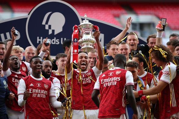 Thắng ngược Chelsea, Arsenal vô địch Cúp FA 2020 - Ảnh 1.