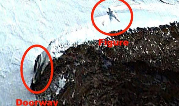 Thợ săn người ngoài hành tinh công bố tìm thấy người cao 20m ở Nam Cực - Ảnh 1.