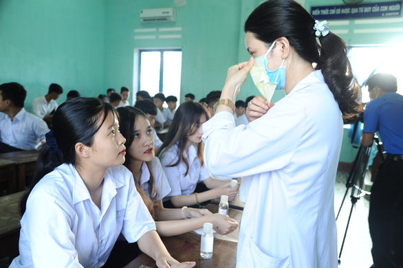 Quảng Nam gửi công văn đến Bộ GD-ĐT đề xuất các phương án tổ chức thi - Ảnh 1.