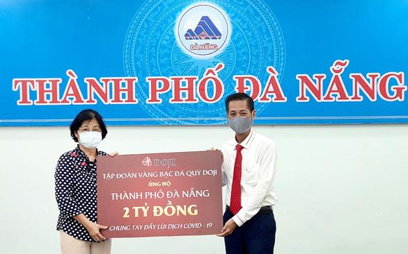 Tập đoàn DOJI chia sẻ khó khăn với Đà Nẵng đểchốngdịch COVID-19 - Ảnh 1.