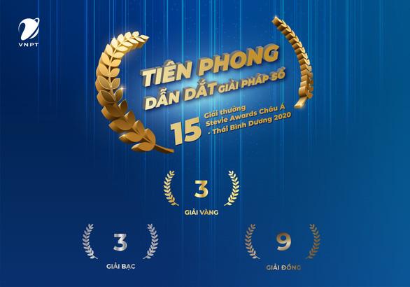 VNPT đạt 15 giải thưởng tại Stevie Awards châu Á - Thái Bình Dương 2020 - Ảnh 1.