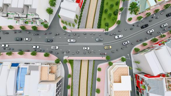 Hơn 400 tỉ đồng mở rộng gấp đôi cầu Hang Ngoài để giải quyết kẹt xe - Ảnh 1.