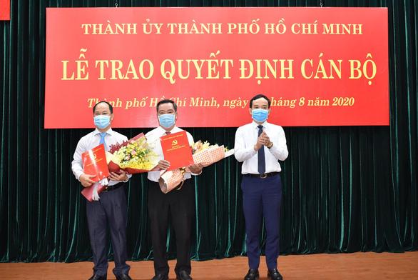Ông Lê Đức Thanh được bầu giữ chức chủ tịch UBND quận 2 - Ảnh 1.