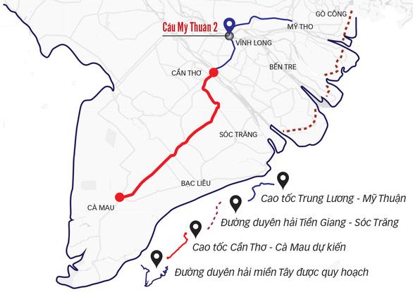 Từ Sài Gòn đi về Cà Mau bằng đường ven biển - Ảnh 2.