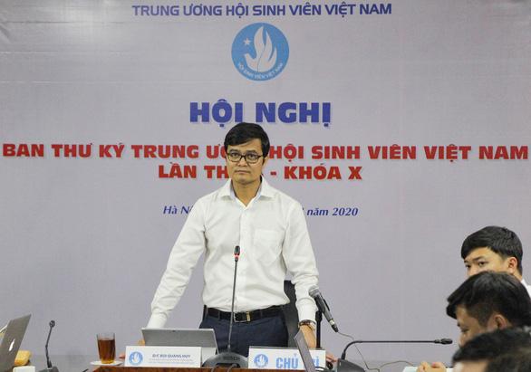 Khai mạc hội nghị ban thư ký trung ương Hội sinh viên Việt Nam - Ảnh 2.