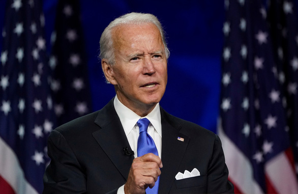 Ông Trump chỉ trích ông Biden 'nói suông' tại đại hội Đảng Dân chủ - Ảnh 2.