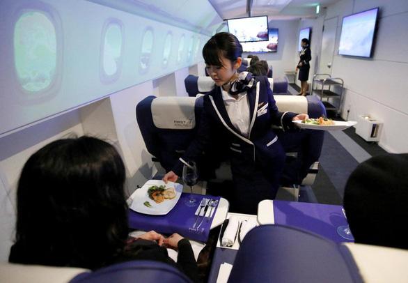 Đi, ăn, thư giãn trên máy bay nhưng không… bay - Ảnh 7.