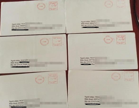 Nhiều học sinh nhận được thư nặc danh nói xấu trường đại học - Ảnh 2.