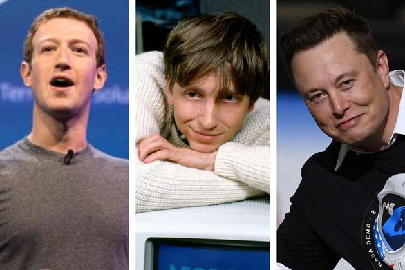Tỉ phú đôla ngày càng trẻ hóa: Bill Gates ở tuổi 31, Mark Zuckerberg tuổi 23 - Ảnh 1.