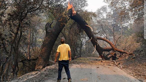 Sét đánh gây 560 đám cháy rừng khắp California, cứu hỏa chật vật vì thiếu người - Ảnh 7.