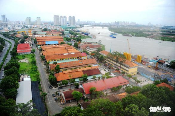 TP.HCM kiến nghị Bộ Quốc phòng bàn giao khu đất tại Ba Son - Ảnh 1.