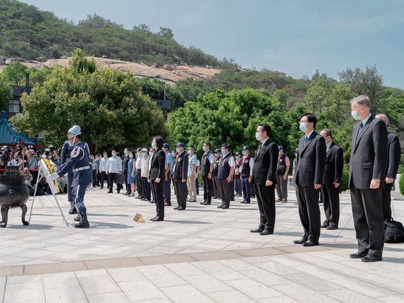 Đài Loan tưởng niệm 62 năm vụ Trung Quốc pháo kích Kim Môn - Ảnh 1.