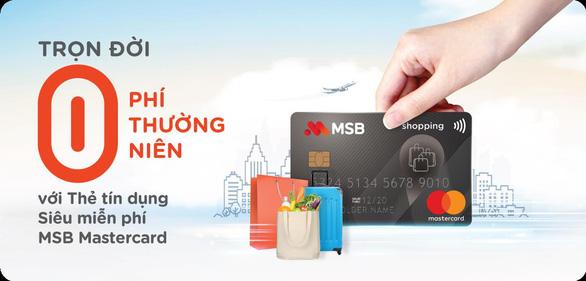 Đa dạng hóa trải nghiệm tiêu dùng với thẻ tín dụng - Ảnh 2.
