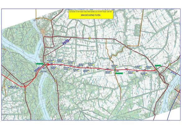 Tháng 11-2020 khởi công cao tốc Mỹ Thuận - Cần Thơ - Ảnh 1.