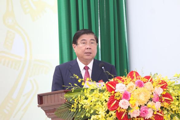 Chủ tịch TP.HCM mong quận Thủ Đức trở thành hình mẫu phát triển mảng xanh - Ảnh 2.