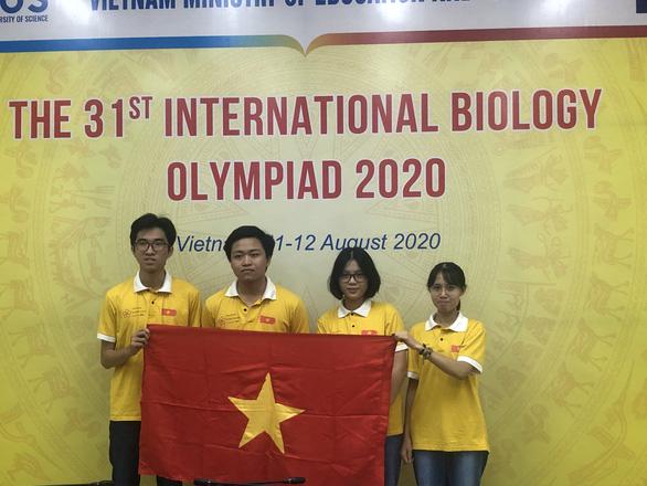 Học sinh Việt Nam đoạt huy chương vàng Olympic Sinh học quốc tế - Ảnh 1.