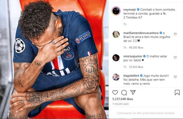 Đá dở nhưng Neymar vẫn tuyên bố: Tôi đã chiến đấu tốt - Ảnh 1.