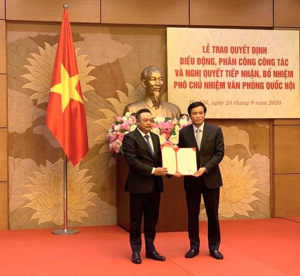 Điều động, bổ nhiệm chủ tịch Tập đoàn dầu khí làm phó chủ nhiệm Văn phòng Quốc hội - Ảnh 1.