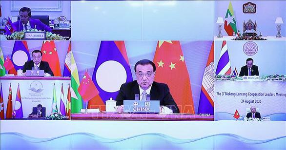 Trung Quốc hứa hẹn nhiều trong hội nghị với các nước Mekong - Ảnh 1.