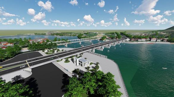 Xây đập ngăn mặn kết hợp làm cầu vượt trên sông Cái Nha Trang - Ảnh 1.