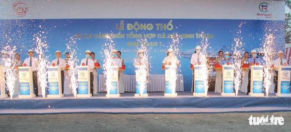 Ninh Thuận động thổ cảng biển tổng hợp Cà Ná - Ảnh 3.
