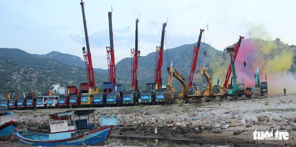 Ninh Thuận động thổ cảng biển tổng hợp Cà Ná - Ảnh 1.