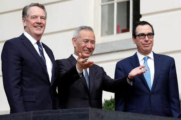 Mỹ, Trung lạc quan về thỏa thuận thương mại sau điện đàm - Ảnh 1.