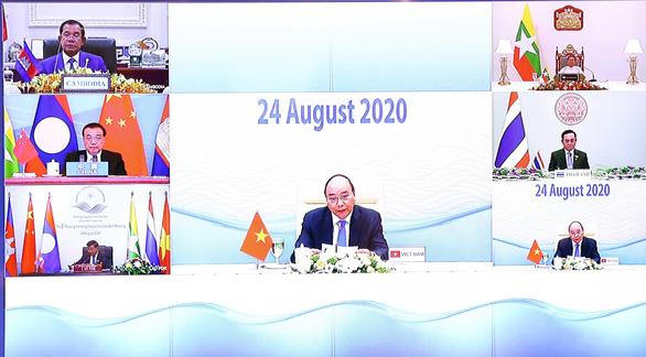 Hội nghị Mekong - Lan Thương: Kêu gọi chia sẻ dữ liệu nguồn nước - Ảnh 1.