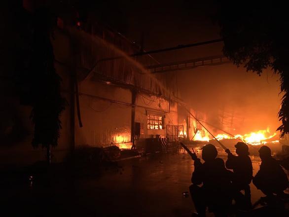 Cháy đỏ trời trong Khu công nghiệp Tân Tạo - Ảnh 4.