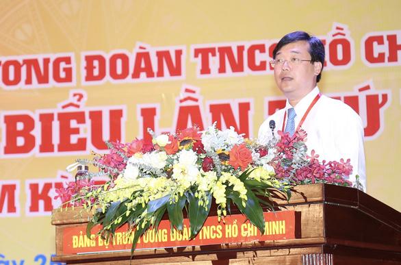 Anh Lê Quốc Phong tái đắc cử Bí thư Đảng ủy Trung ương Đoàn - Ảnh 1.