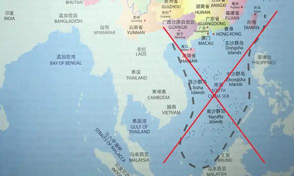 Úc thu hồi sách dạy tiếng Trung có đường lưỡi bò 23 đoạn ăn vào sát đất liền Việt Nam - Ảnh 1.