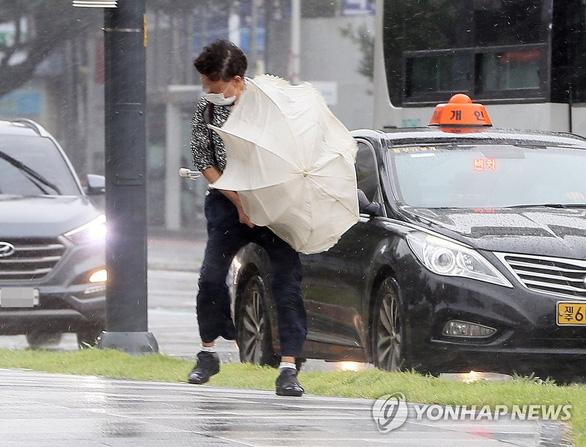 Hàn Quốc, Triều Tiên căng mình chống bão Bavi siêu mạnh - Ảnh 1.