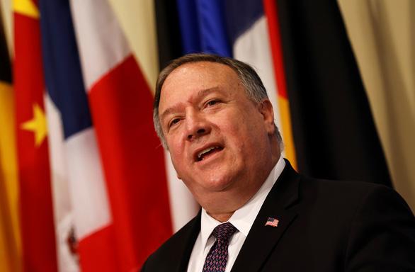 Ông Pompeo: Mỹ không cho phép Trung Quốc bắt nạt các nước Đông Nam Á ở Biển Đông - Ảnh 1.