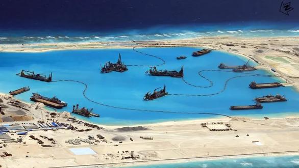 Điểm tên 24 công ty Trung Quốc cải tạo Biển Đông bị Mỹ trừng phạt - Ảnh 1.