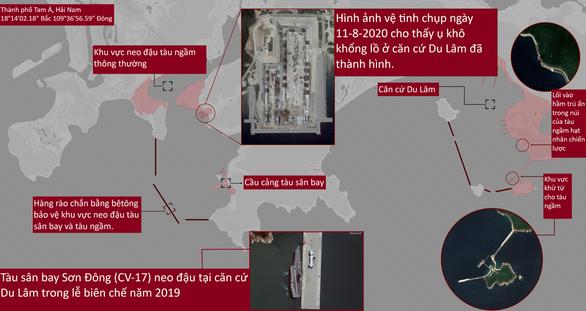 Dù dịch bệnh hoành hành, Trung Quốc vẫn làm căn cứ lớn cho tàu sân bay - Ảnh 2.