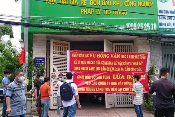 Bắt tạm giam tổng giám đốc Công ty cổ phần bất động sản nhà đất Đồng Nai - Ảnh 2.