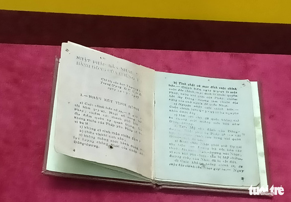 Xem những hiện vật gốc về Ngày Độc lập 2-9 - Ảnh 7.