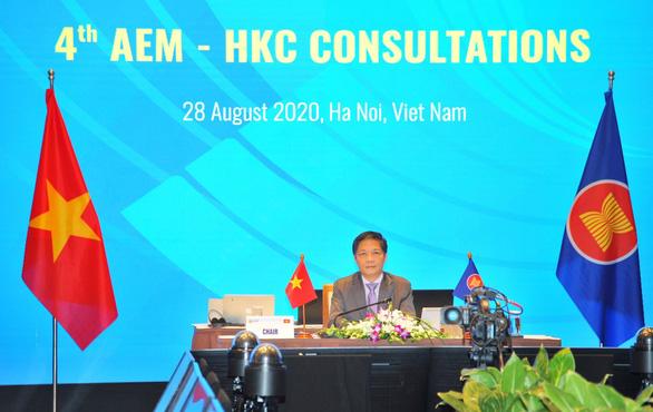 Thúc đẩy hiệp định thương mại và đầu tư ASEAN - Hong Kong thực thi cuối năm 2020 - Ảnh 1.