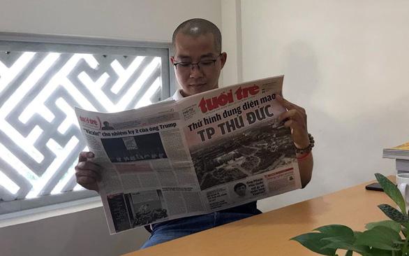 Giữ bản sắc Đỏ - Trẻ - Sài Gòn, gần gũi hơn với bạn đọc - Ảnh 1.