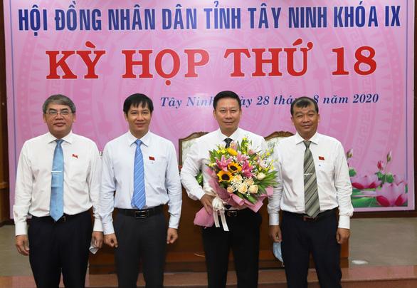 Ông Nguyễn Thanh Ngọc được bầu làm chủ tịch UBND tỉnh Tây Ninh - Ảnh 1.
