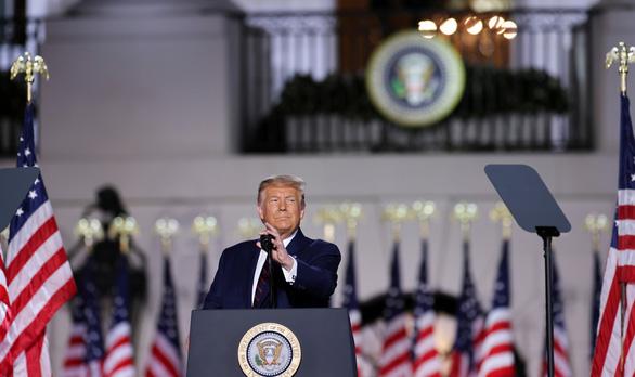 Ông Trump nhận đề cử, cảnh báo Trung Quốc sẽ kiểm soát Mỹ nếu ông Biden đắc cử - Ảnh 1.