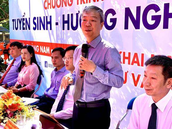 Thí sinh từ Quảng Ngãi trở ra không tham gia thi năng lực tại TP.HCM - Ảnh 1.