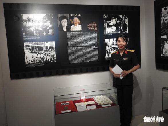 Giáo sư Lê Thi, người phụ nữ kéo cờ Ngày độc lập 2-9-1945, qua đời - Ảnh 2.