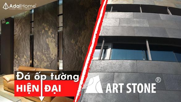 Vật liệu xây dựng độc lạ: ngói bitum phủ đá - đá Art ốp tường - Ảnh 5.
