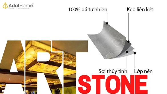 Vật liệu xây dựng độc lạ: ngói bitum phủ đá - đá Art ốp tường - Ảnh 6.