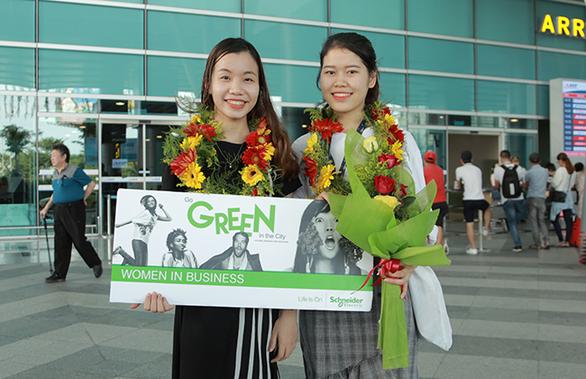 Cơ hội trải nghiệm công việc sau khi giành giải cuộc thi Go Green in the City